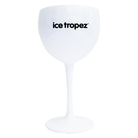 Ice Tropez glas wit